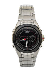 CASIO Black Dial Watch With Silver Straps - Kenya Deals