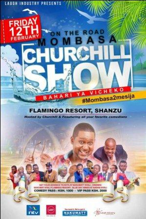 Churchil Show Live - Mombasa Edition