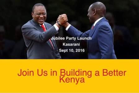 Jubilee Party Launch - Safaricom Stadium Kasarani