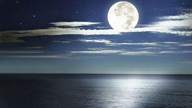 Why does the moon control the tides?
