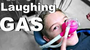 Which gas is known as laughing gas?