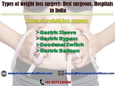 Obesity Surgery in India; get a slimmer size in all most half of the surgery price