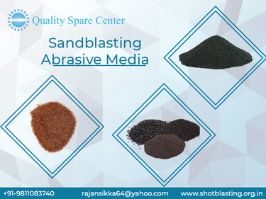 Get Sandblasting Abrasive Media at Low Price