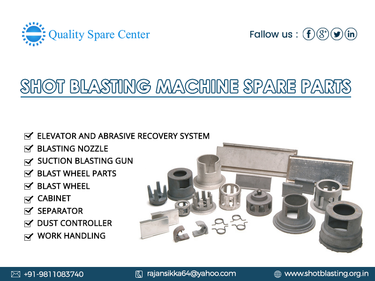 Shot Blasting Machine Spare Parts in Faridabad, India