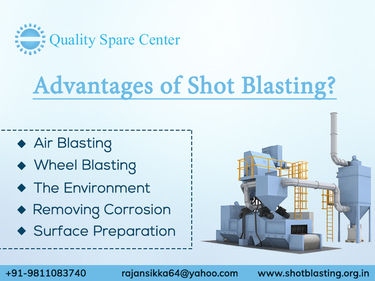 Advantages of Shot Blasting for Surface Preparation