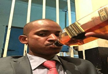 Babu Owino: A Pig's bladder on a stick