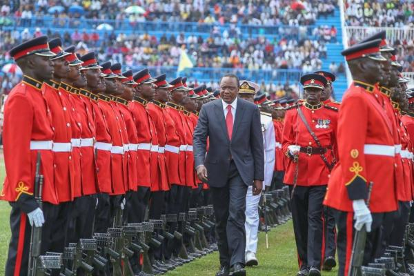 MASHUJAA DAY 2015 CELEBRATIONS SPEECH BY HIS EXCELLENCY HON. UHURU KENYATTA
