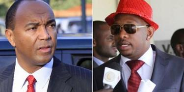 Peter Kenneth and Senator Sonko unity