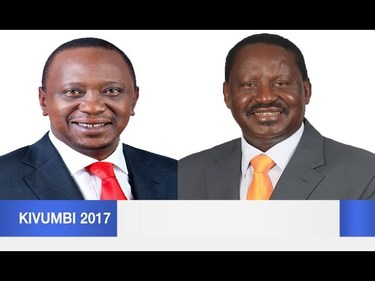 Live Provisional Kenya Election Results
