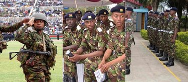 KDF Recruitment Dates and Centres